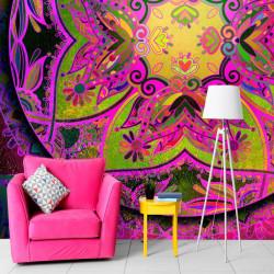 Fototapet - Mandala: Pink...