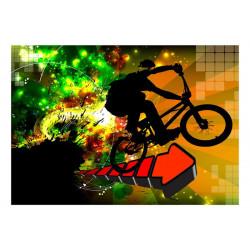 Fototapet - Bicycle Tricks