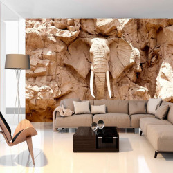 Fototapet - Stone Elephant...