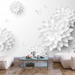 Fototapet - Oriental Flowers