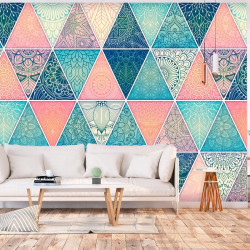 Fototapet - Oriental Triangles