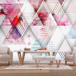 Fototapet - Triangular World