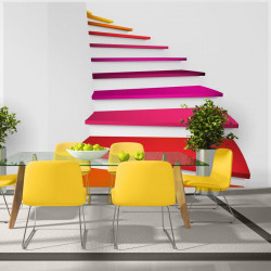 Fototapet - Colorful stairs