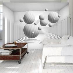 Fototapet - Balls in White