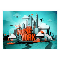 Fototapet - Welcome New York
