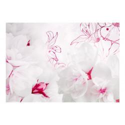 Fototapet - Enveloped in white
