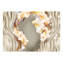 Fototapet - Wreath of orchids