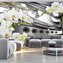 Fototapet - Orchids & jewelry