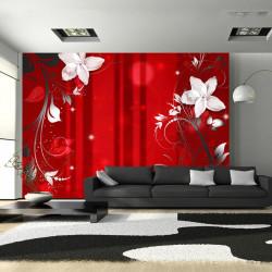 Fototapet - Flowering scarlet