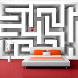 Fototapet - Ice labyrinth