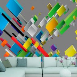 Fototapet - Color puzzle