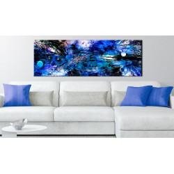 Billede - Blue Artistic Chaos