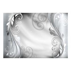 Fototapet - Silver ornament