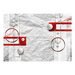 Fototapet - Paper Abstraction
