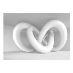 Fototapet - White weave