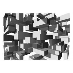 Fototapet - Grey notes