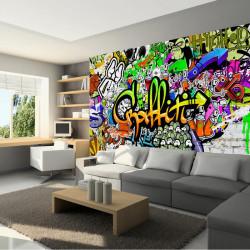 Fototapet - Graffiti on the...