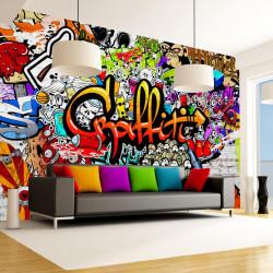 Fototapet - Colorful Graffiti