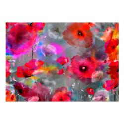 Fototapet - Painted Poppies