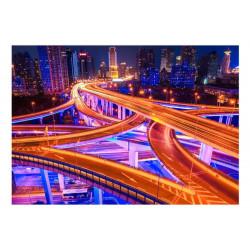 Fototapet - Spiderweb of roads