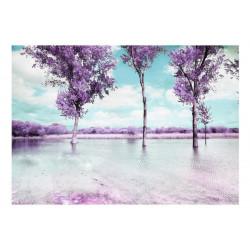 Fototapet - Heather landscape