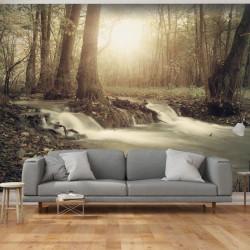 Fototapet - Forest Cascade