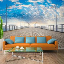 Fototapet - The  pier