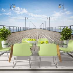 Fototapet - On the pier