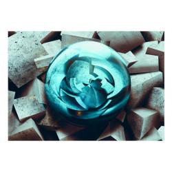 Fototapet - Blue glow