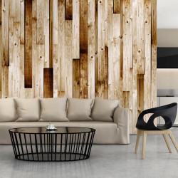Fototapet - Wooden boards