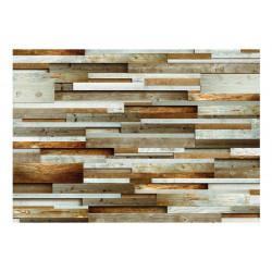 Fototapet - Wooden order